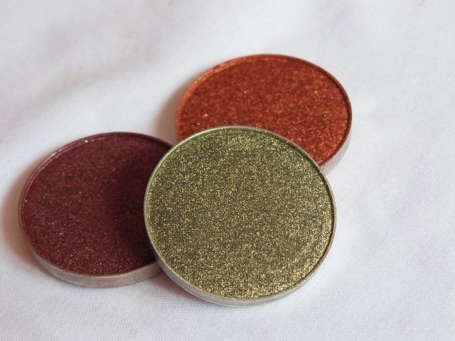 Sneak Peek- Makeup Geek Foiled Eye Shadow - Jester Look