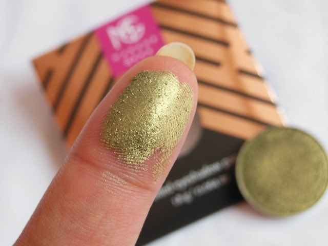 Sneak Peek- Makeup Geek Foiled Eye Shadow - Jester Swatch