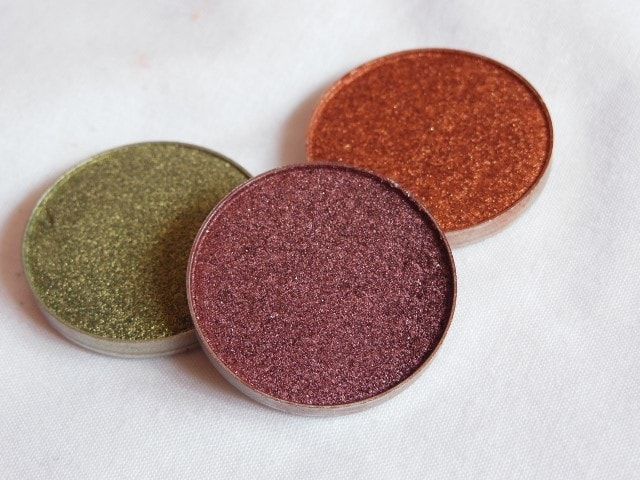 Sneak Peek- Makeup Geek Foiled Eye Shadow - Showtime Look