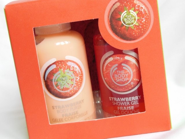 The Body Shop Gift Cube Strawberry