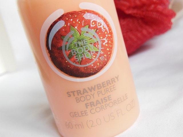 The Body Shop Strawberry Body Puree
