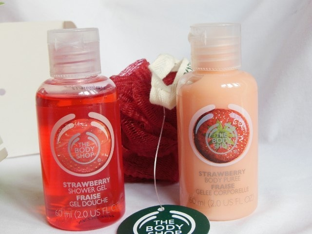 The Body Shop Strawberry Shower Gel and Puree Review