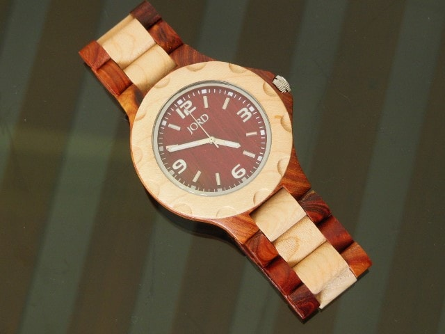 Jord Wooden Watch Sully Cherry and Maple
