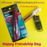 Friendship Day Giveaway with Maybelline: 3 Winners!