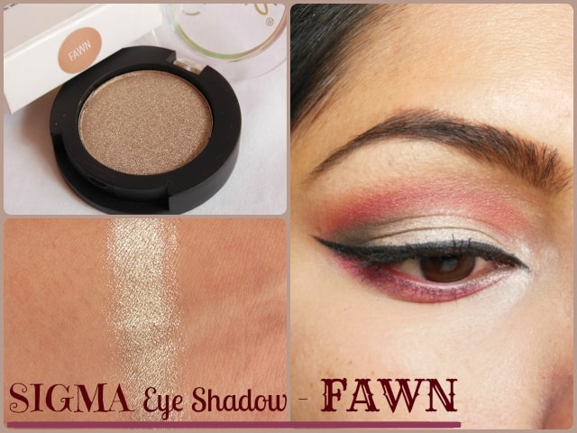 SIGMA Eye Shadow Fawn Look
