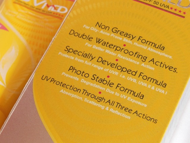 UVMed Tinted Sunscreen Claims