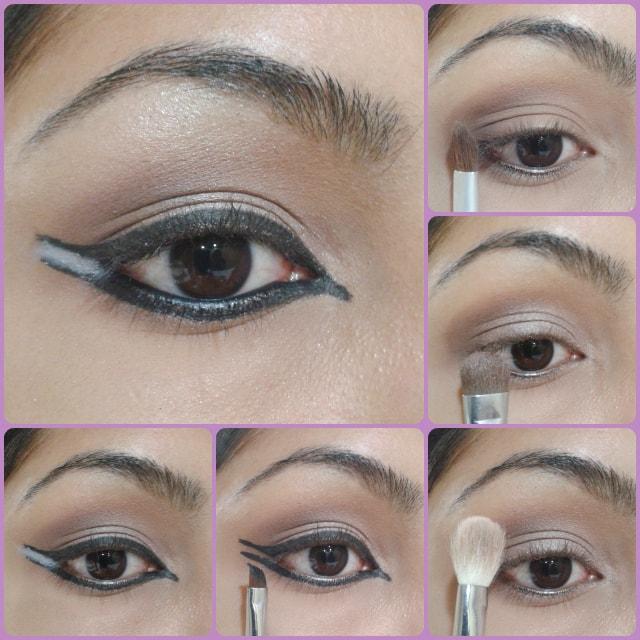 Eye Makeup Tutorial - Dual Winged Eye Liner