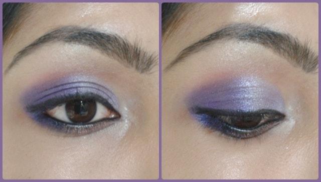 Eye Makeup Tutorial -Ombre Purple Eye Makeup