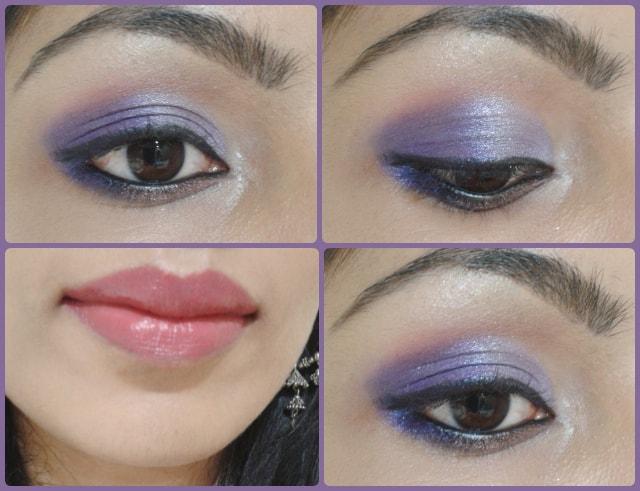 Eye Makeup Tutorial - Ombre Purple Eye makeup Look