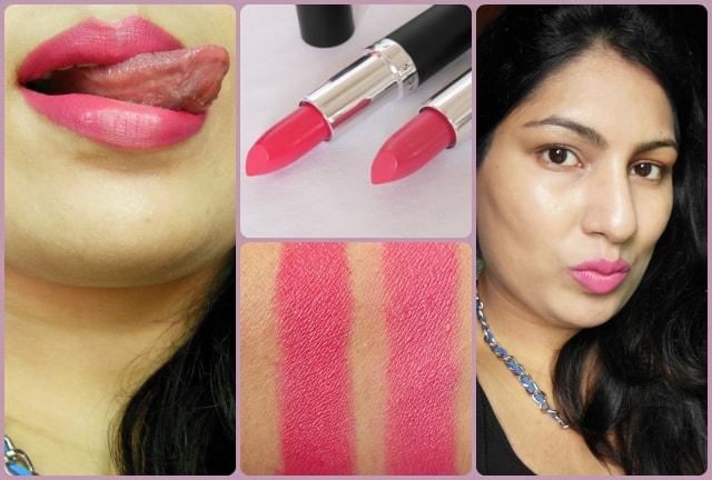 Faces Ultime Pro Velvet Matte Lipsticks Look
