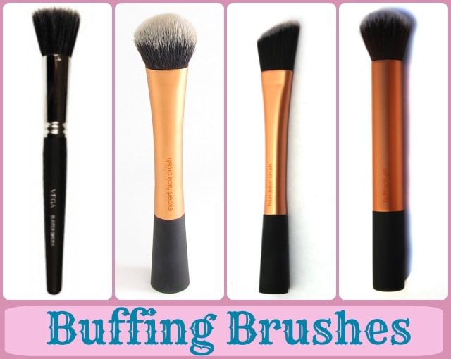 Foundation Brushes Guide - Buffing Brushes