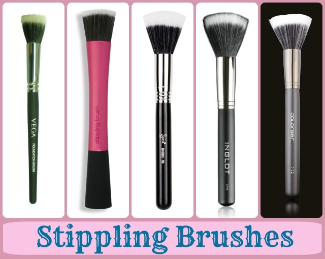 Foundation Brushes Guide - Stippling Brushes