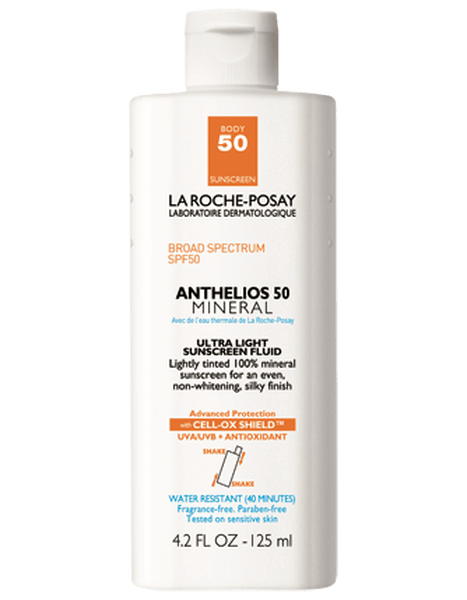 La Roshe Posey Sunscreen SPF 50 Anthelios 50 Mineral Ultra Light Sunscreen Fluid
