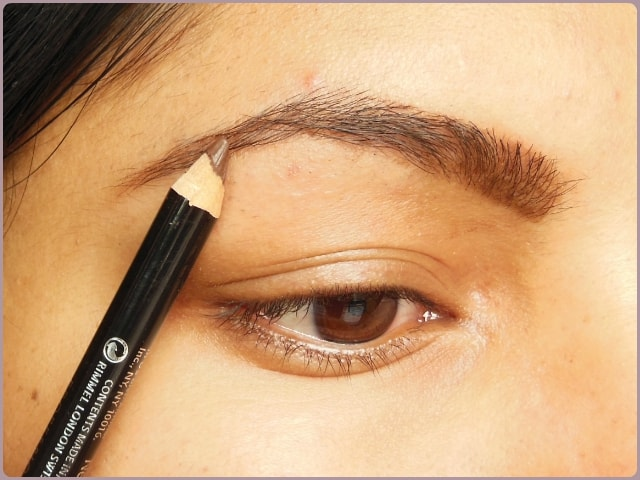 Rimmel Eye Brow Pencil - Dark Brown EOTD