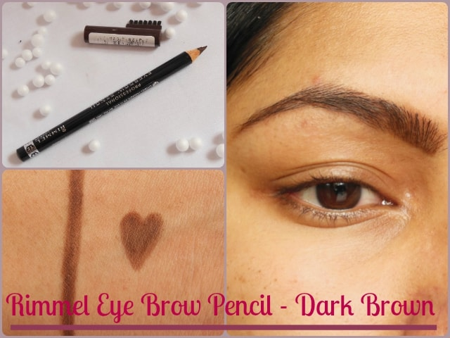 Rimmel Eye Brow Pencil - Dark Brown Look