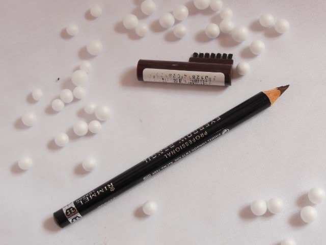Rimmel London Eye Brow Pencil - Dark Brown Packaging
