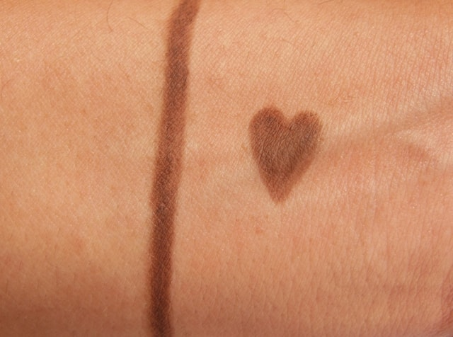 Rimmel London Eye Brow Pencil - Dark Brown Swatch