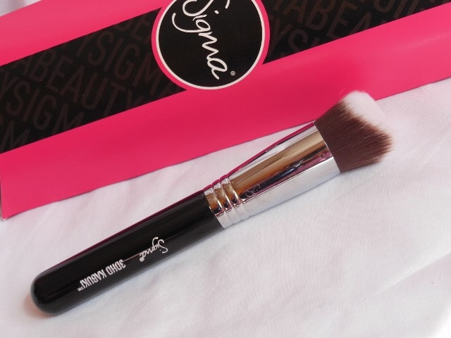 SIGMA 3DHD Kabuki Brush Review