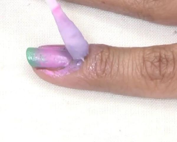 Do It Yourself- Ombre Nail Art Step 5