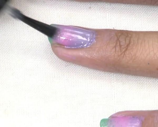 Do It Yourself- Ombre Nail Art Step 6