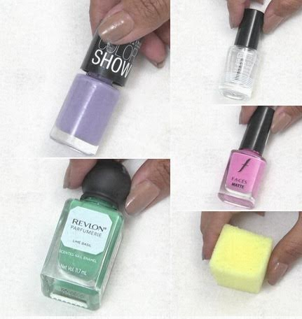 Do It Yourself- Ombre Nail Art
