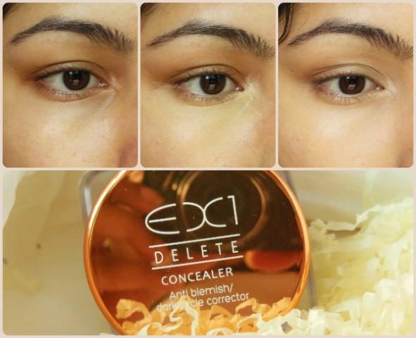 EX1 Cosmetics Invisiwear Concealer EOTD
