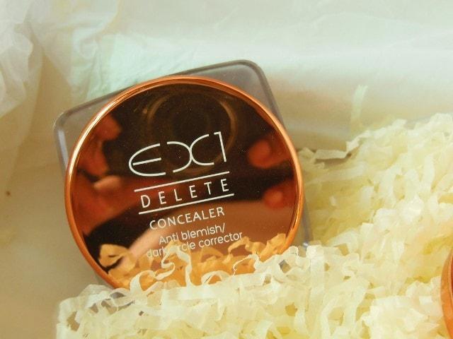 Ex1 Cosmetics Delete Concealer Anti Blemish - Dark Circle Corrector