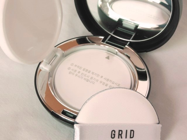 Grid Solution CC Cushion SPF50+ Packaging