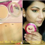 L'Oreal Mat Magique All In One Tranforming Powder SPF 34 Look
