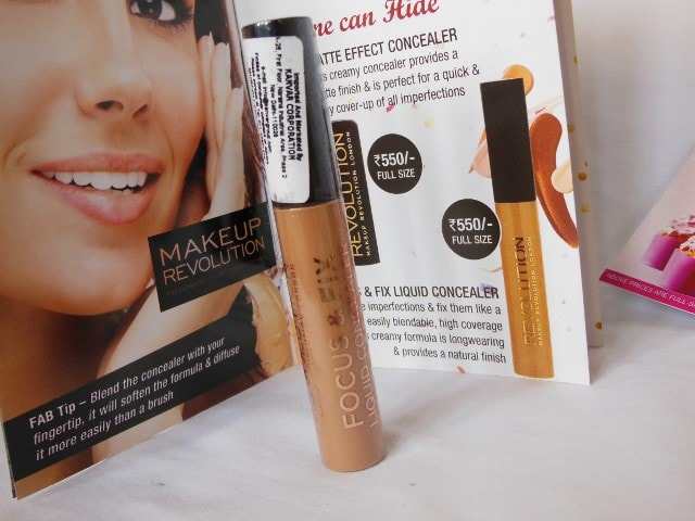 Makeup Revolution Focus & Fix Liquid Concealer