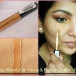 Makeup Revolution London Focus & Fix Liquid Concealer Look