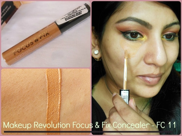 Makeup Revolution London Focus & Fix Liquid Concealer Look