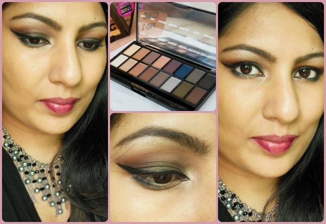 Makeup Revolution London Iconic Pro2 Palette Look