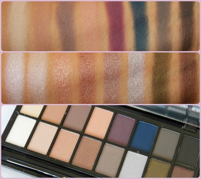 Makeup Revolution London Iconic Pro2 Palette Swatch