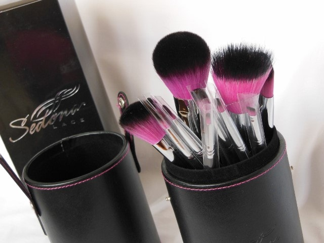 Sedona Lace 12 Piece Synthetic Professional brush Set Packaging