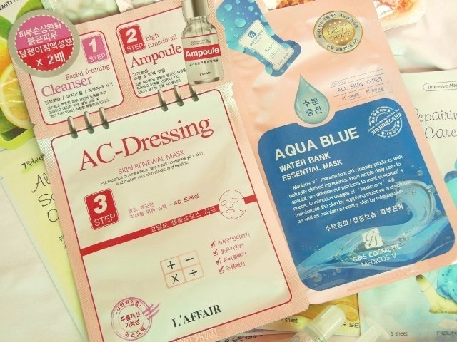 Skin18.com AC Dressing face Mask Sheets