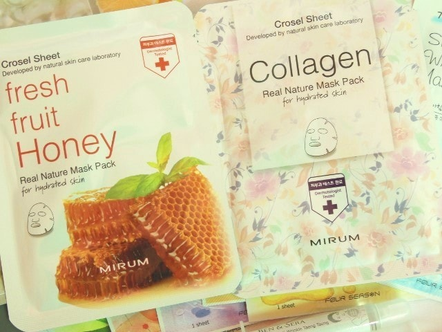 Skin18.com Crosel face Mask Sheets