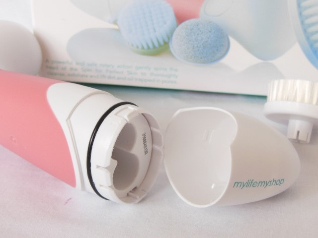 Spin For Perfect Skin Beauty Brush battery