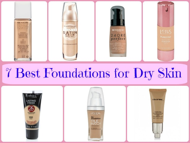 Best Foundations for Dry Skin