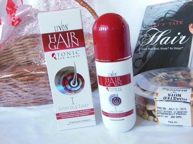 Livon Hair Gain Tonic for Women with Root Energizers