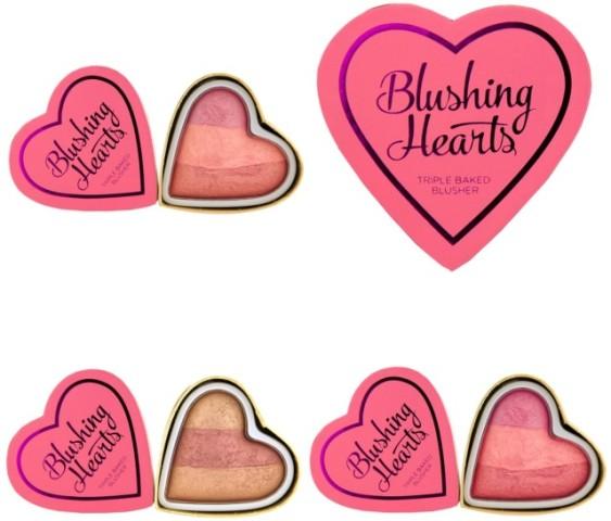 Makeup Revolution I Heart Makeup Hearts Blusher