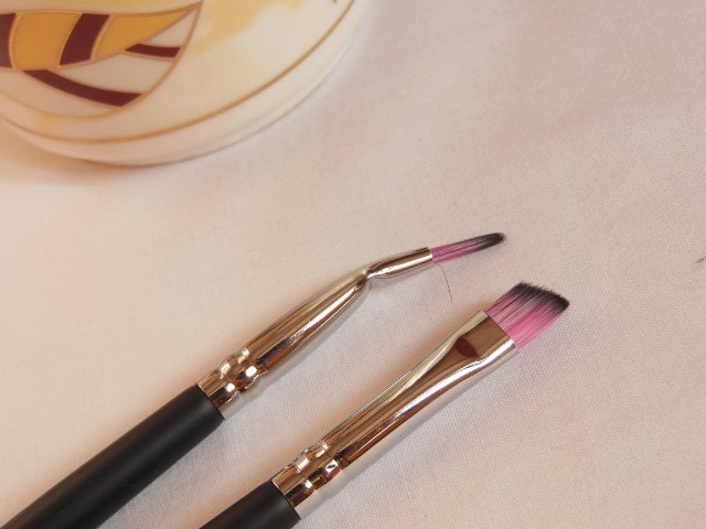 Sedona Lace Makeup Brush - Angled Detail EB 23 and Bent Liner EB 19