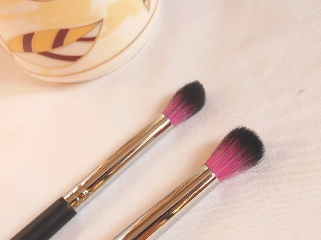 Sedona Lace Makeup Brush - Synthetic Blender EB 13 and Pointed Crease EB 15 Eye Brush