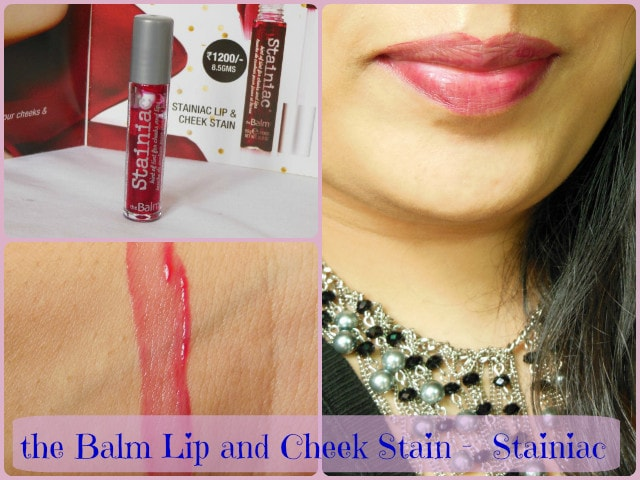 The Balm Stainiac Lip and Cheek Stain FOTD