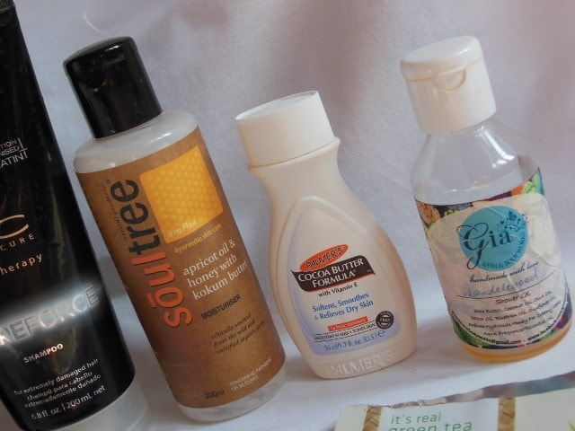 Bath and Body Products FInished in October 2015
