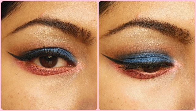 Blue and Pink Eyes EOTD