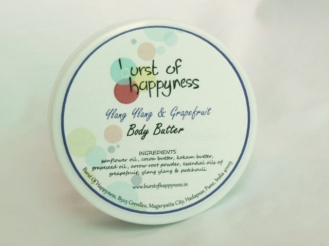 Burst Of Happyness Ylang Ylang and Grapefruit Body Butter
