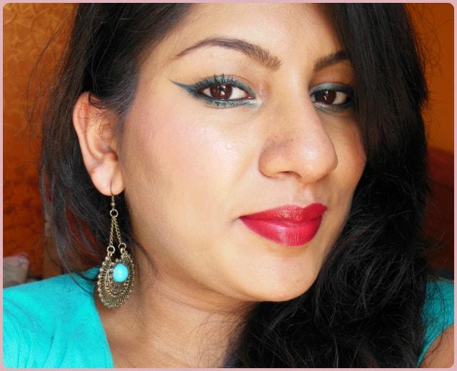 Easy Festive Makeup Look