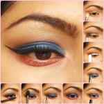 Eye Makeup Tutorial: Blue Me Away