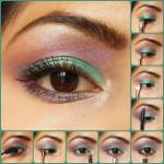 Eye Makeup Tutorial: Kareena Kapoor Inspired Green and Purple Eyes